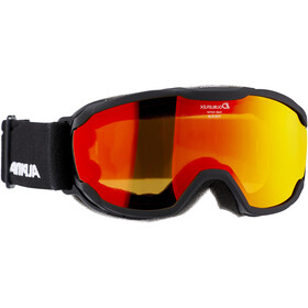 Alpina Pheos MM Goggles Kinder black/orange